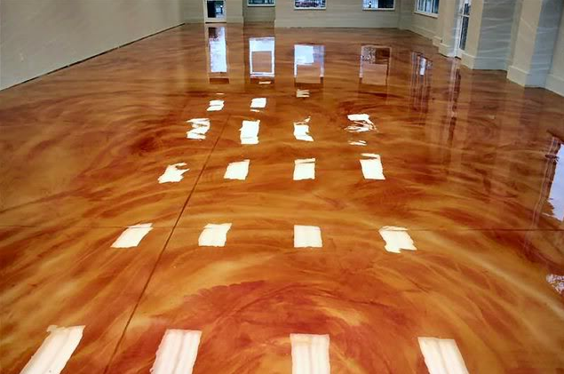 Let It Shine The 411 On Metallic Epoxy Coatings Epoxy